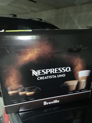 Coffee machine Nespresso Creatista Uno for Sale in Bothell, WA