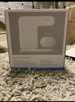 White Wireless charger for Sale in Vancouver, WA