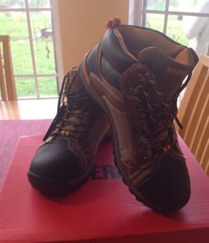 Men's Steel Toe Work Boots for Sale in Deltona, FL