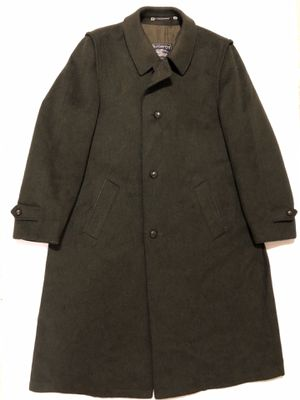 Unique BURBERRYS Womens Loden Coat Green Wool Made In Austria VINTAGE for Sale in Orlando, FL
