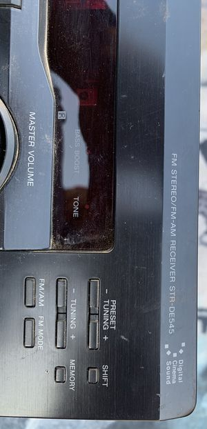 Sony stereo receiver $$ 70 dlls for Sale in Waco, TX