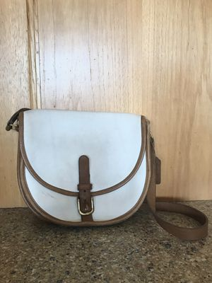 Vintage Coach Saddle Purse for Sale in Escondido, CA