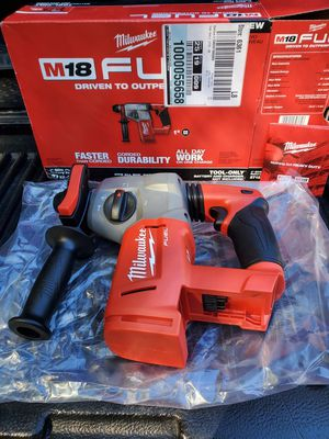 Milwaukee M18 FUEL SDS PLUS rotary hammer for Sale in Riverview, FL