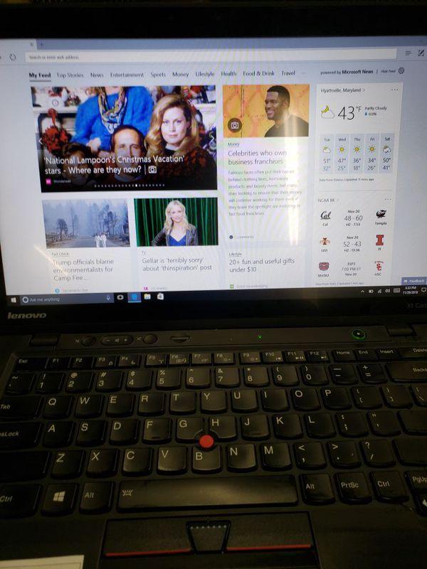 Lenovo X1 Carbon Ultrabook Intel Core i7 vPro Thinkpad 8GB 128GB SSD