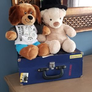 Build a Bear: 2 bear+ clothes and accessories for Sale in Miami, FL