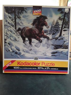 Horse puzzle,,,never opened. for Sale in Linden, PA