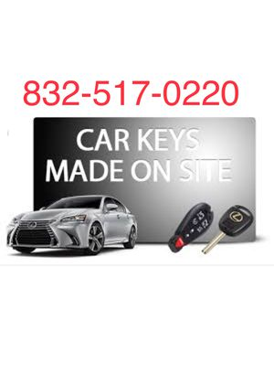 Car key, mobile for Sale in Houston, TX