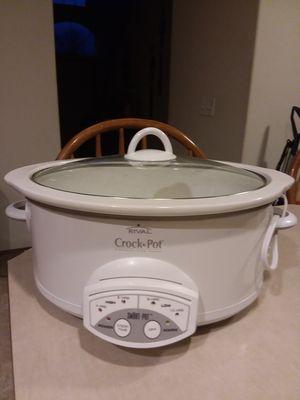 Rival Crock Pot for Sale in Tacoma, WA