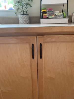 Oil Bronzed Black Hardware Kitchen Cabinet Drawers for Sale in Lynnwood, WA