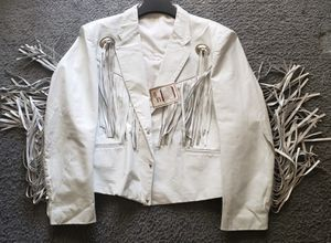 Lo/Era XL Mens Cowboy White Fringe Jacket for Sale in Portland, OR