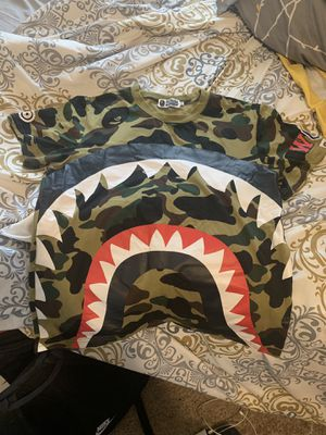 Camouflage BAPE Shirt for Sale in Detroit, MI