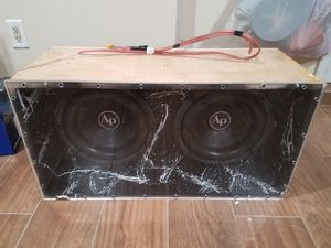 CUSTOM SUB BOX for Sale in Staten Island, NY