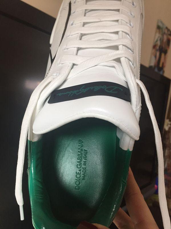 Men's Dolce and Gabbana Portofino Sneakers Size 12