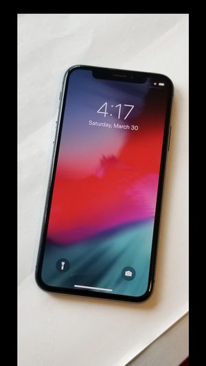 iPhone X, Factory Unlocked for Sale in Springfield, VA