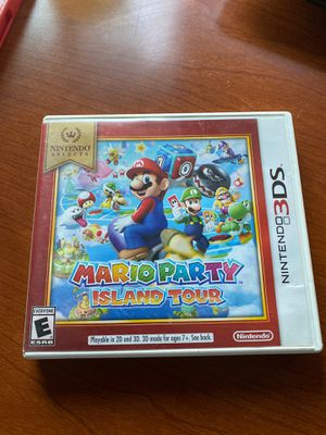 Nintendo Selects: Mario Party: Island Tour For 3DS Very for Sale in Phoenix, AZ
