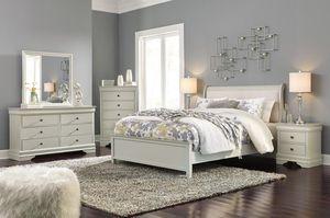 Jorstaaaad Gray Sleigh Bedroom Set for Sale in Falls Church, VA