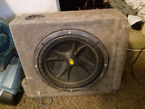 """12"""" Kicker subwoofer for Sale in Pittsburgh, PA"""
