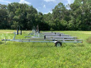 Pontoon trailer Karavan aluminum 2018 new for Sale in New Smyrna Beach, FL