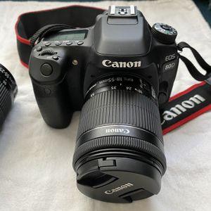 Canon 80D DSLR Camera 2 lens kit for Sale in Plano, TX