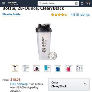 Blender Bottle for Sale in Everett, WA