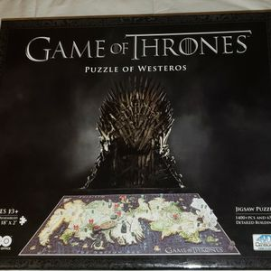 Brand New Game of Thrones Puzzle for Sale in Beaverton, OR
