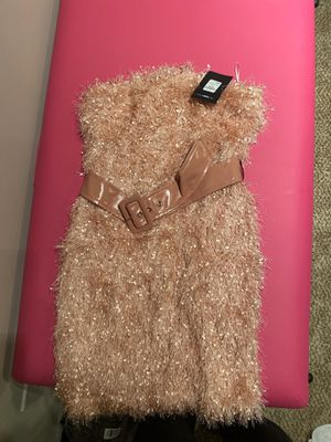(Blush) Fringe Mini Dress for Sale in Columbus, OH
