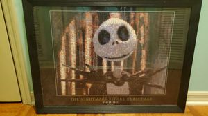 RARE photomosaic The nightmare before Christmas art for Sale in Tampa, FL