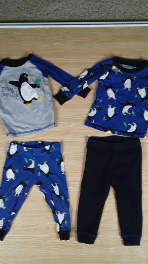 4 Piece Penguin Pajama Set size 12 mo. for Sale in Las Vegas, NV