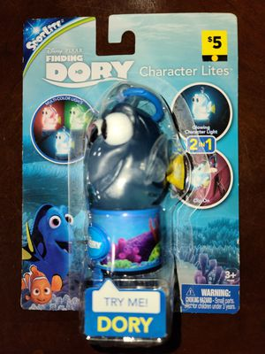 Finding dory character light clip and light spinner for Sale in Jefferson, OH