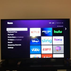50 inch Sceptre TV, NEW 160$ for Sale in Rossville, GA