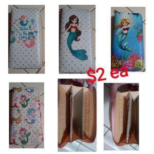 New mermaid wallets for Sale in Fresno, CA