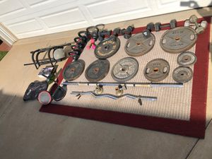 Weights, Barbells, Kettlebells and more for Sale in National City, CA
