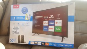 TCL 32in smart tv for Sale in Madison, WI