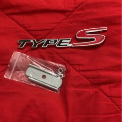 RSX Type-S Emblem for Sale in Sacramento,  CA