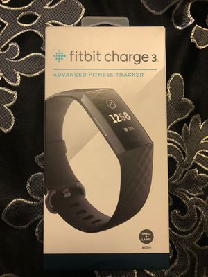 Fitbit charge 3 black for Sale in Houston, TX