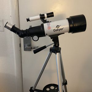 Gskyer Telescope, 70mm Aperture 400mm AZ Mount Astronomical Refracting Telescope for Kids Beginners - Travel Telescope with Carry Bag, Phone Adapter a for Sale in Los Angeles, CA