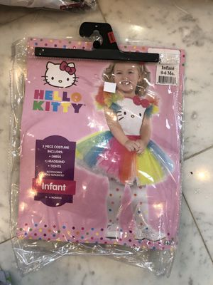 Hello Kitty infant baby girl Halloween costume for Sale in Hoffman Estates, IL