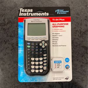 TI 84 PLUS CALCULATOR for Sale in Long Beach, CA
