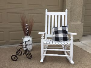 Farmhouse Wooden Rocking Chair for Sale in Turlock, CA