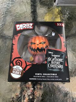 Funko H Q pop vinyl figure Disney Tim Burtons the Nightmare before Christmas pumpkin king Dorbz #233 Sorry I don't ship. Everett 98203 area. 2 for Sale in Everett,  WA