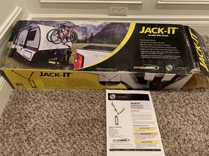 Jack-It double bike carrier from Let's Go Aero for Travel Trailer for Sale in Puyallup, WA