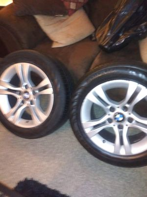 Bmw rims with tires for Sale in York, PA