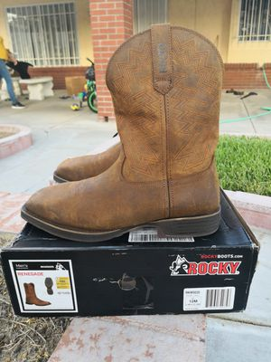 Brand new rocky steel toe work boots size 12 for Sale in Riverside, CA