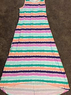 Girl's Circo Striped Maxi Dress - Size 10/12 - Like New for Sale in Chesapeake,  VA