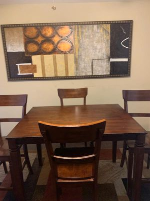 wood kitchen table for Sale in Belleville, IL