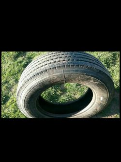 Trailer tire 275/70 R22.5 good condition for Sale in Vancouver,  WA