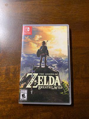 Nintendo Switch - Legend of Zelda Breath of the Wild NEW for Sale in Cambridge, MA