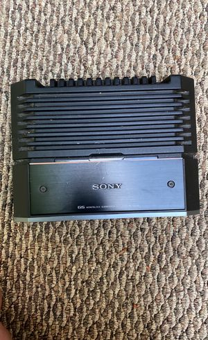 3 amplifier 2 sony and 1 pioneer for Sale in Lanham, MD