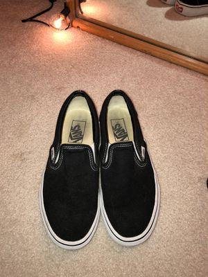 vans black slip on for Sale in Renton, WA
