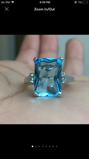 Sterling silver plated ring women's jewelry for Sale in Silver Spring, MD
